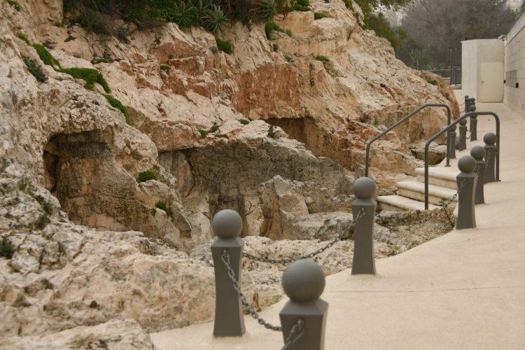 הגן הארכיאולוגי כתף הינום (צילום: תפארת גולדפרב)