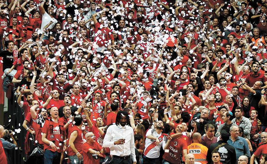 הפועל ירושלים זוכה בגביע המדינה בכדורסל (צילום: ניר קידר)