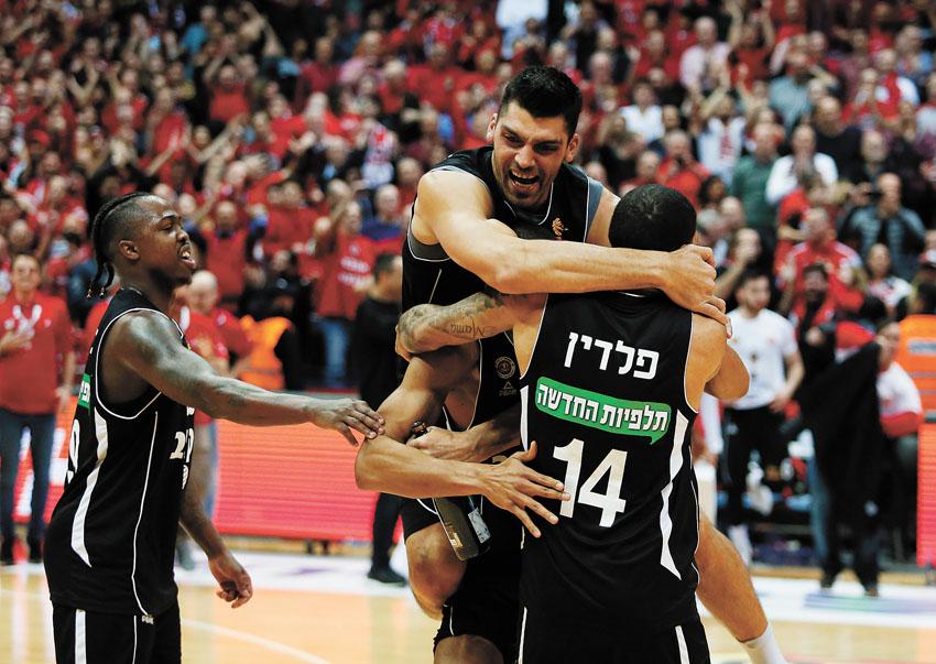 גמר גביע הפועל ירושלים (צילום: ניר קידר)