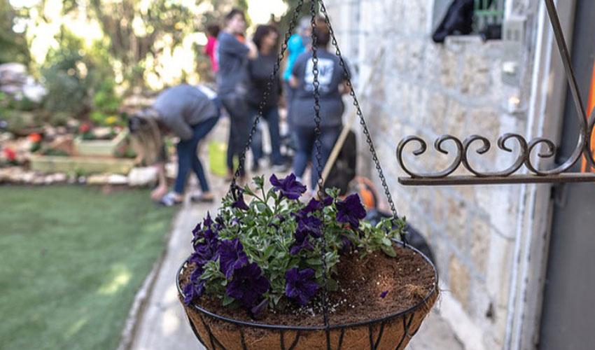 הוסטל לנערות בסיכון בירושלים (צילום: דניאל רחמים)