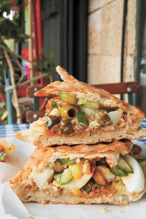"""""""הסנדוויץ' של רשל"""" (צילום: אסף קרלה)"""