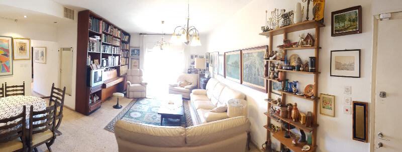 הדירה ברחוב שמעוני, רסקו (צילום: עומרי טוטנאור)