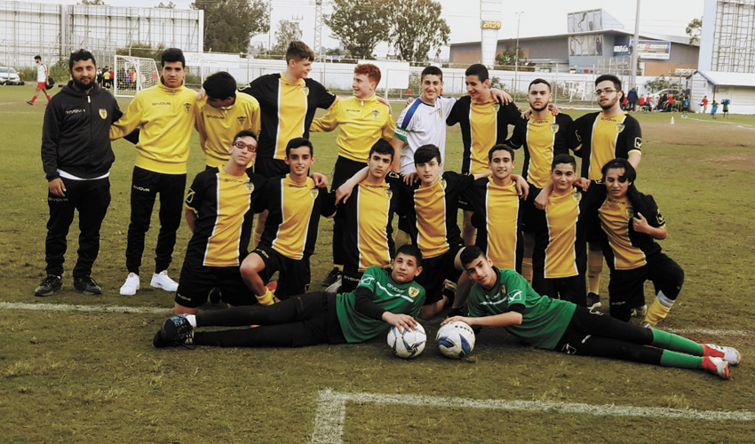 """נערים ב' של בית""""ר (צילום: באדיבות בית""""ר ירושלים)"""
