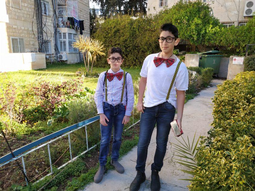 """גיא עמיר מביה""""ס זיו ורועי עמיר מביה""""ס בית הכרם (צילום: אבישג עמיר)"""