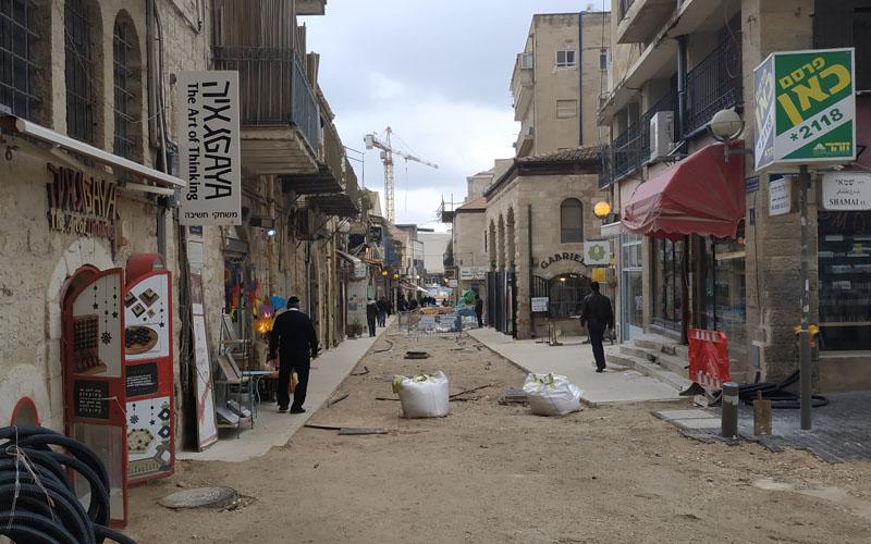 רחוב משה יואל סלומון (צילום: שלומי הלר)