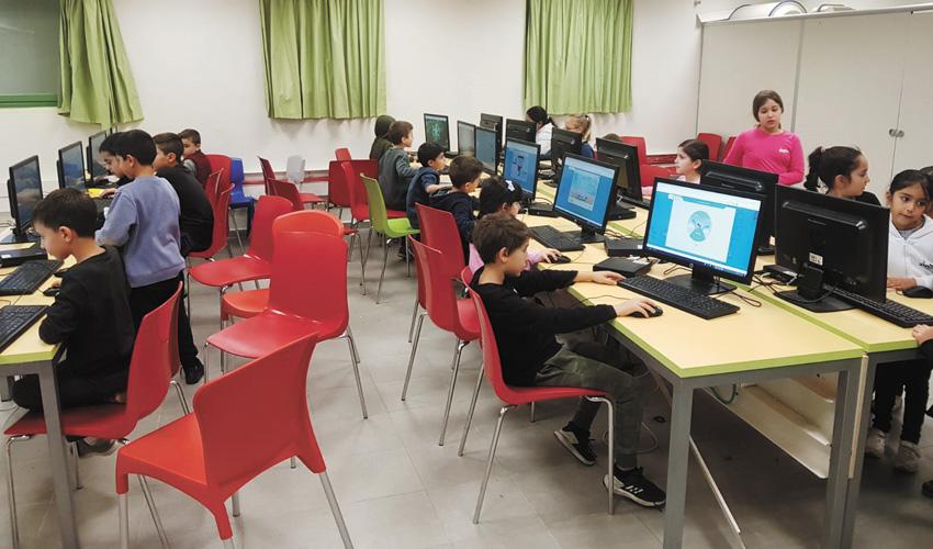 אליפות משחקי המתמטיקה במעלה אדומים (צילום: עיריית מעלה אדומים)