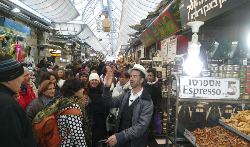 סיורים בירושלים (צילום: אבי נועם)