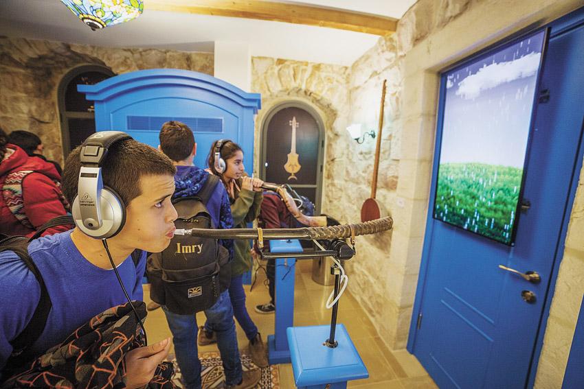 פעילויות במוזיאון המוזיקה (צילום: איתי נדב)