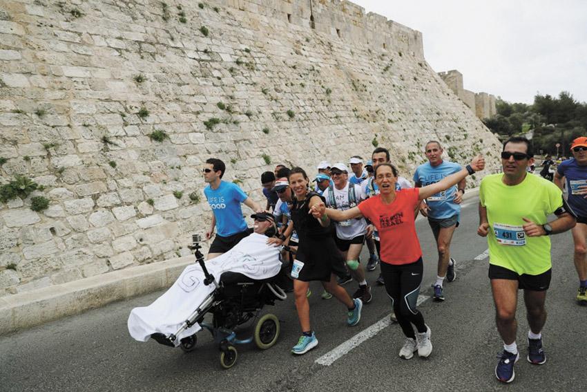 מרתון ירושלים עמותת עלה (צילום: יח''צ עלה)