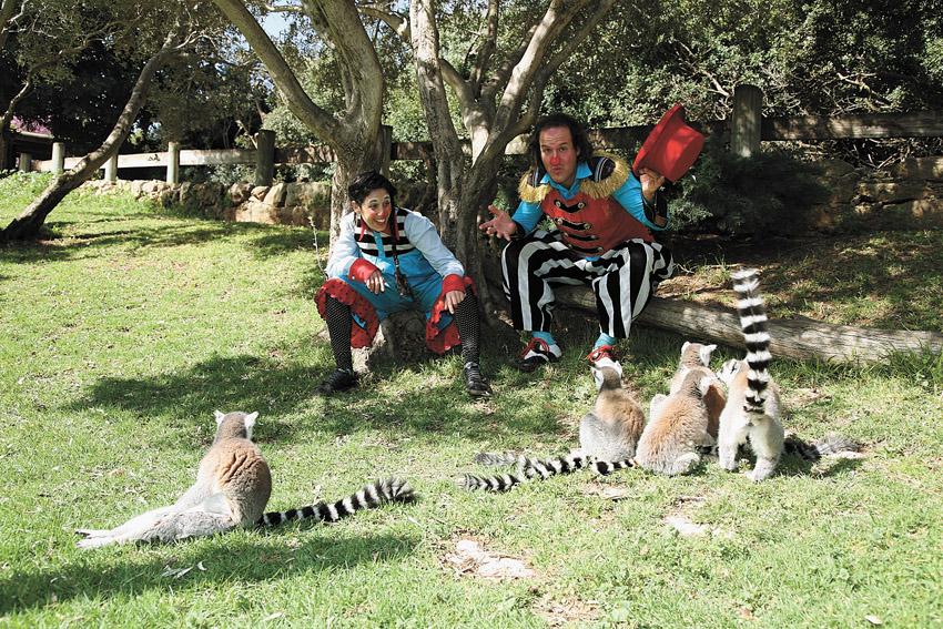 """פורים בגן החיות (צילום: יח""""צ)"""