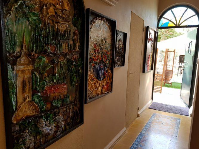 הגלריה של רחלי מרטי (צילום: פרטי)