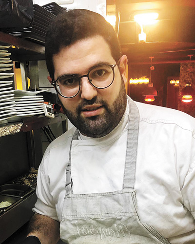 """שף שלומי טויטו, מסעדת ואלרו (צילום: יח""""צ)"""