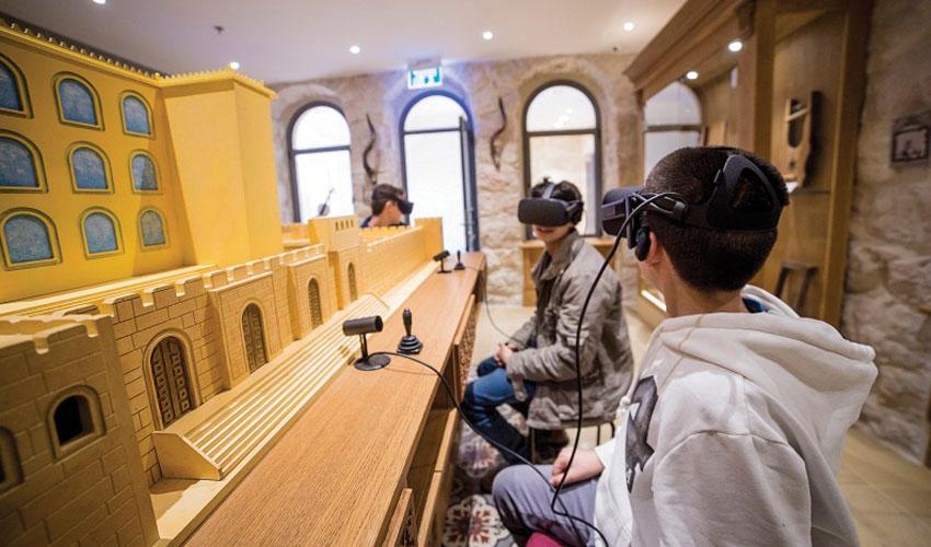 מציאות מדומה במוזיאון המוסיקה (צילום: ליאור לינר)