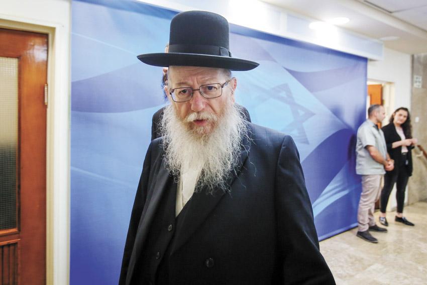 השר יעקב ליצמן (צילום: מרק ישראל סלם)