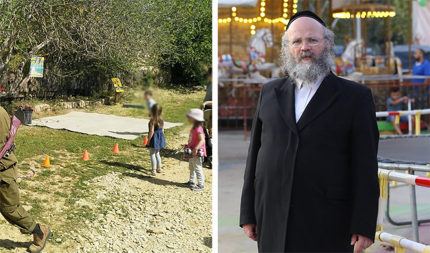 יוחנן ויצמן, פעילות שבת בעין תלם (צילומים: שלומי כהן, אסף כהן)