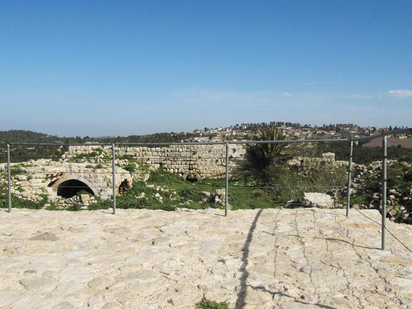 חורבת בית עיטאב (צילום: רחל הראל)
