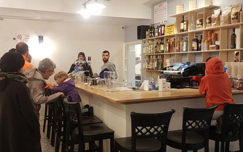 הבר-קפה השיתופי בבית הכרם (צילום: פרטי)