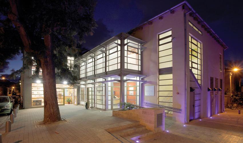מוזיאון נחום גוטמן לאמנות (צילום: רן ארדה)