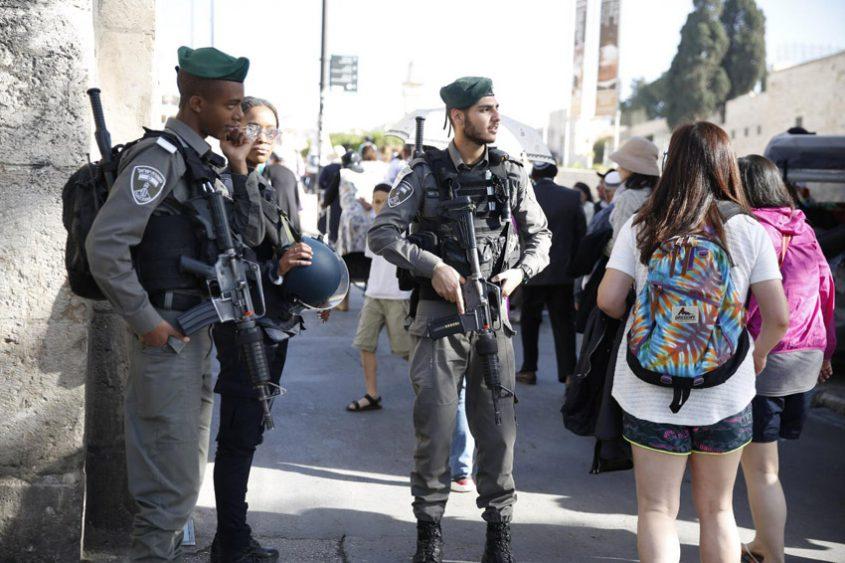 כוננות משטרתית חג פסח 2019 (צילום: דוברות המשטרה)