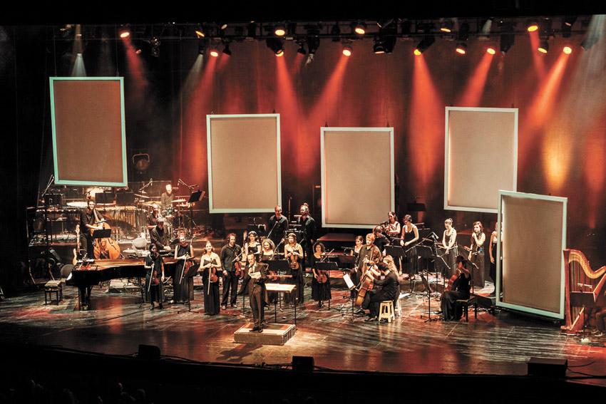 תזמורת המהפכה (צילום: עידו אדן)