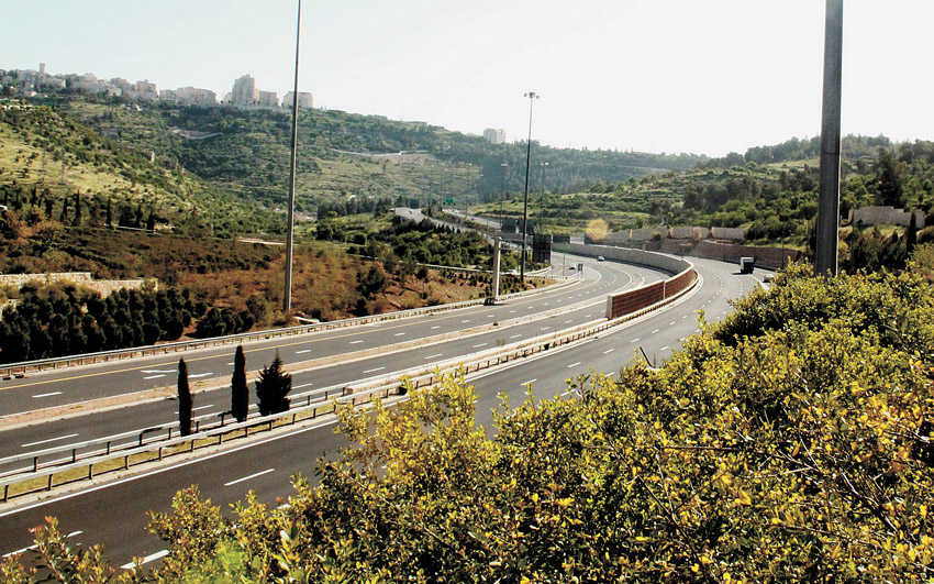 כביש 9 (צילום: Zivya)