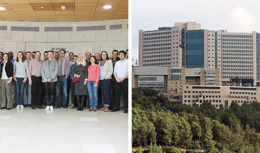 המרכז הרפואי הדסה, צוות החוקרים במחקר (צילומים: אבי חיון, דוברות הדסה, מו''פ הדסה)