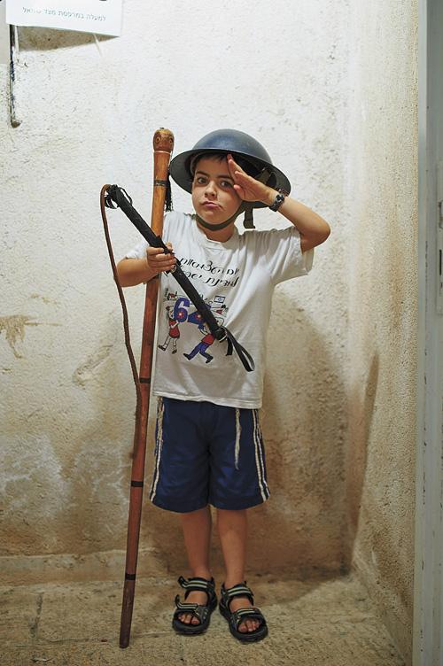מוזיאון חצר היישוב (צילום: יעל הרמן)
