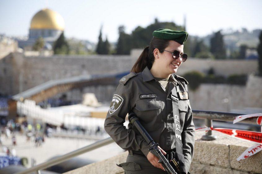 כוננות משטרתית לחג הפסח בירושלים (צילום: דוברות המשטרה)