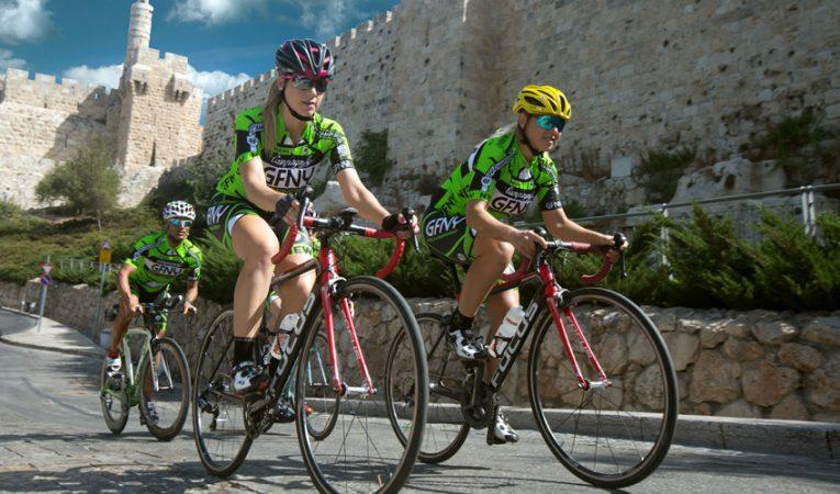 GFNY - מרוץ אופניים (צילום: רונן טופלברג)