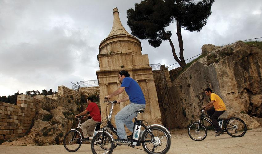 עיר דוד ירושלים הקדומה (צילום: אליהו ינאי)