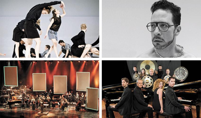 גלעד כהנא, מתוך המופע 'מסע בין כוכבים', תזמורת המהפכה, בלט קולברג (צילומים: רונן ללנה, ענבל מרמרי, עידו אדן, Urban Jörén)