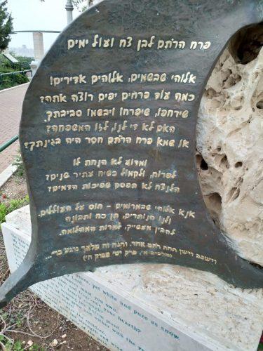 """""""מצפה רתם"""" - לזכרו של סמל רתם שרביט ז""""ל (צילום: באדיבות דוד שרביט)"""