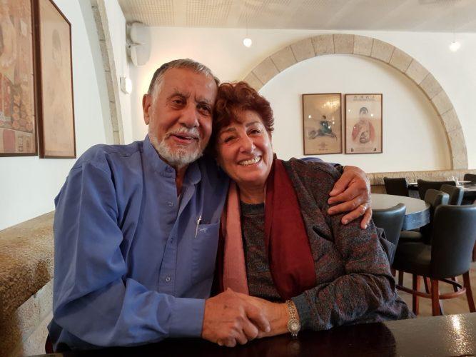 טליה ודוד שרביט (צילום: באדיבות דוד שרביט)