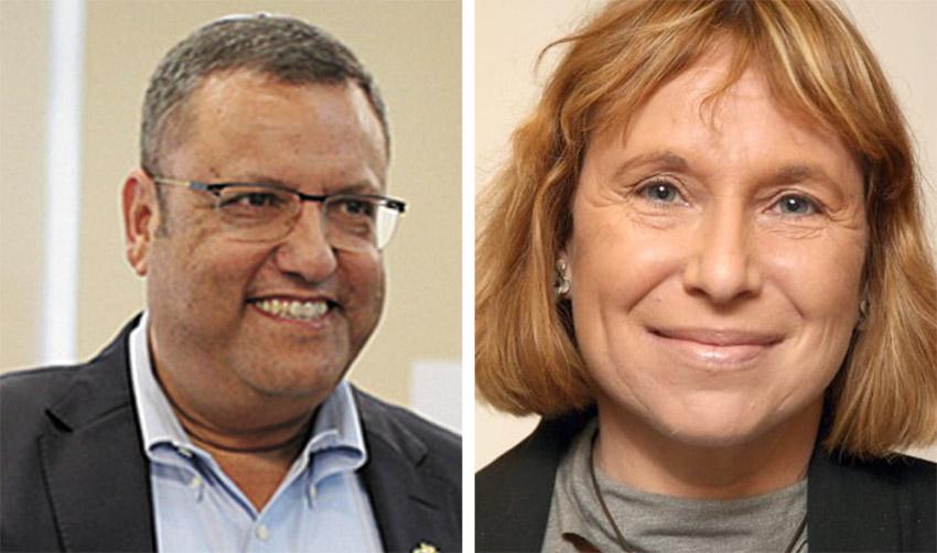 """הבת של עמוס עוז ז""""ל במתקפה כנגד ראש העיר משה ליאון: """"התעלם בנאומו מזכר אבא"""""""