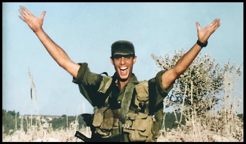 """סמל רתם שרביט ז""""ל (צילום: באדיבות דוד שרביט)"""