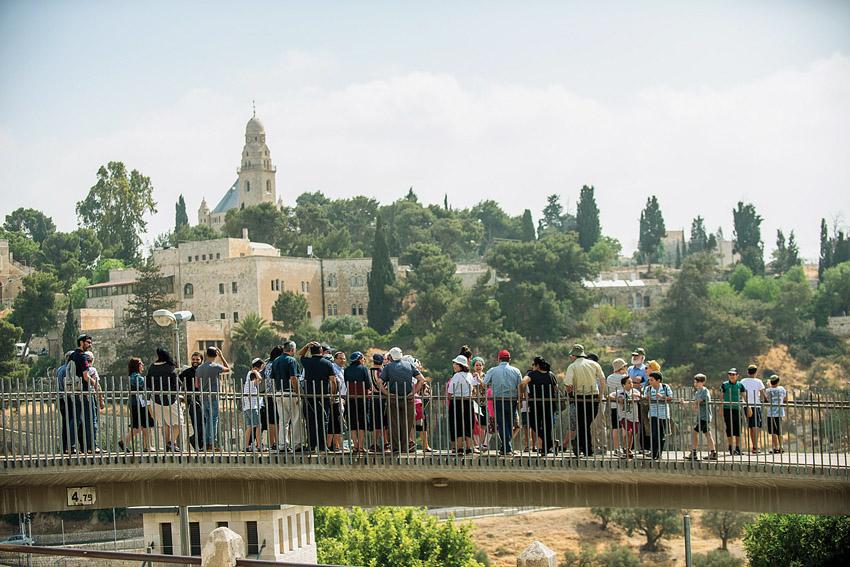 סיור יום ירושלים של מרכז מורשת בגין (צילום: משה כהן)