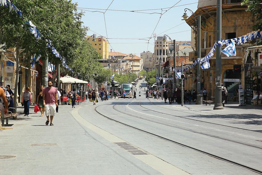רחוב יפו (צילום: ארנון בוסאני)