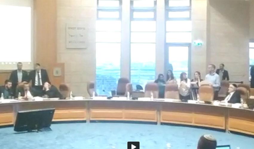 אישור תקציב הבית הפתוח, מועצת עיריית ירושלים, 30.5.19 (צילום: שלומי הלר)