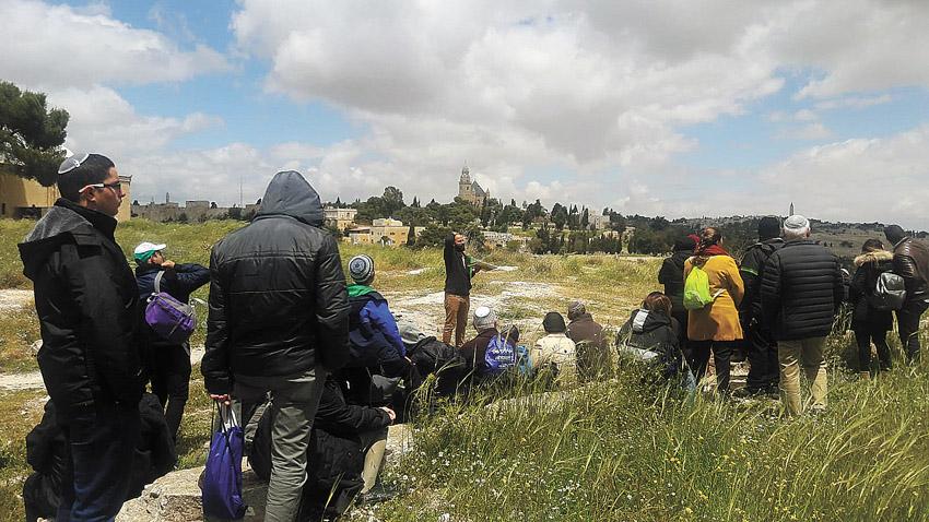 """גבעת התנ""""ך (צילום דוד רודמן, עיר דוד)"""