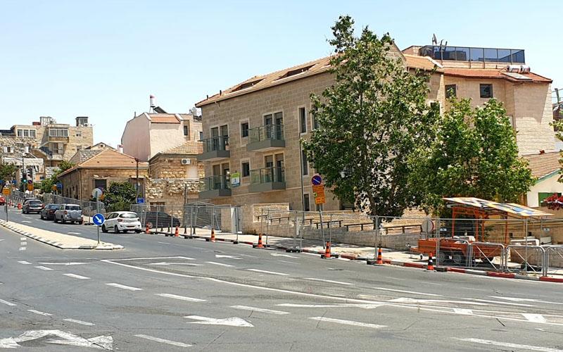 """העבודות ברחוב בצלאל (צילום: ד""""ר אופיר לנג)"""