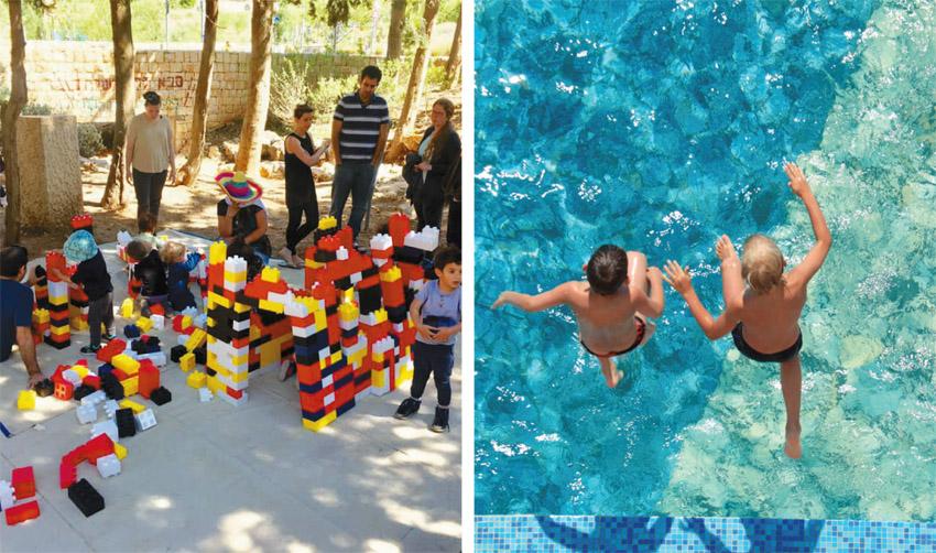 פעילויות קיץ לכל המשפחה (צילומים: רומי בעבוע, א.ס.א.פ קריאייטיב/INGIMAGE, באדיבות מינהל קהילתי לב העיר)
