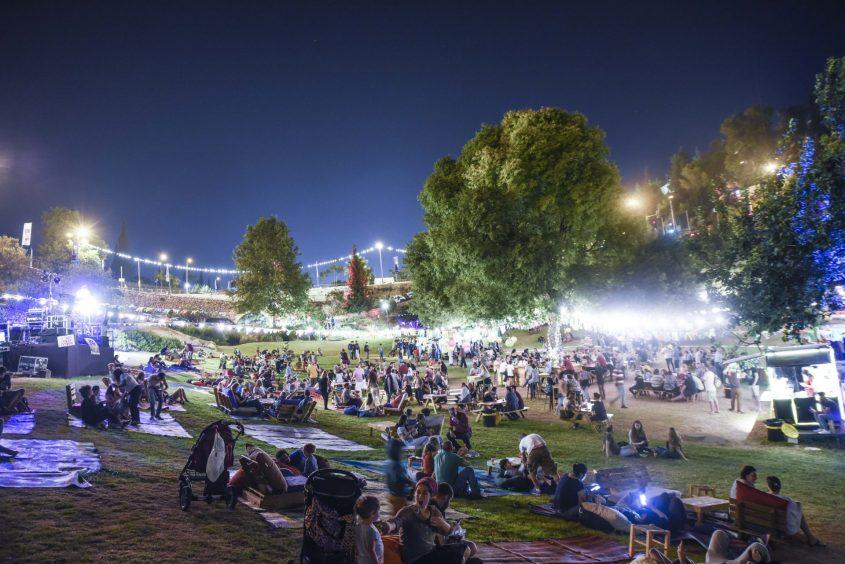 פסטיבל 'אוטואוכל' (צילום: נעם מורנו)