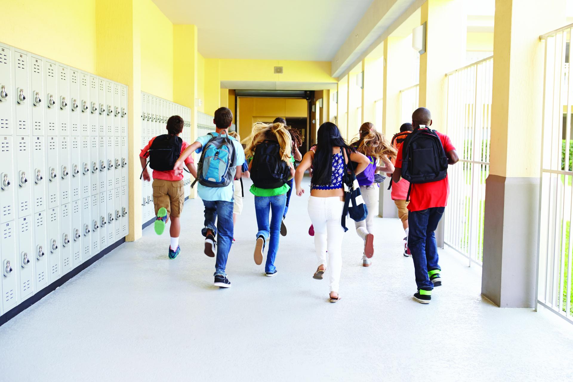תלמידים ותלמידות בית ספר (צילום אילוסטרציה: א.ס.א.פ קריאייטיב INGIMAGE)