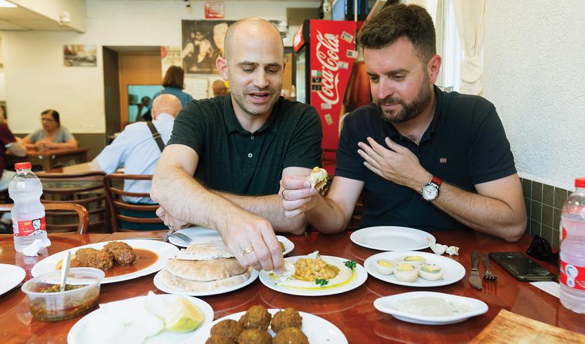 יהונתן כהן ועמית אהרנסון, טעמי (צילום: אסף קרלה)