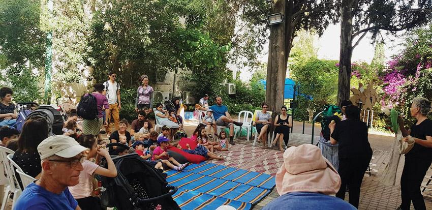 פעילות קיץ של מינהל לב העיר (צילום: באדיבות מינהל קהילתי לב העיר)