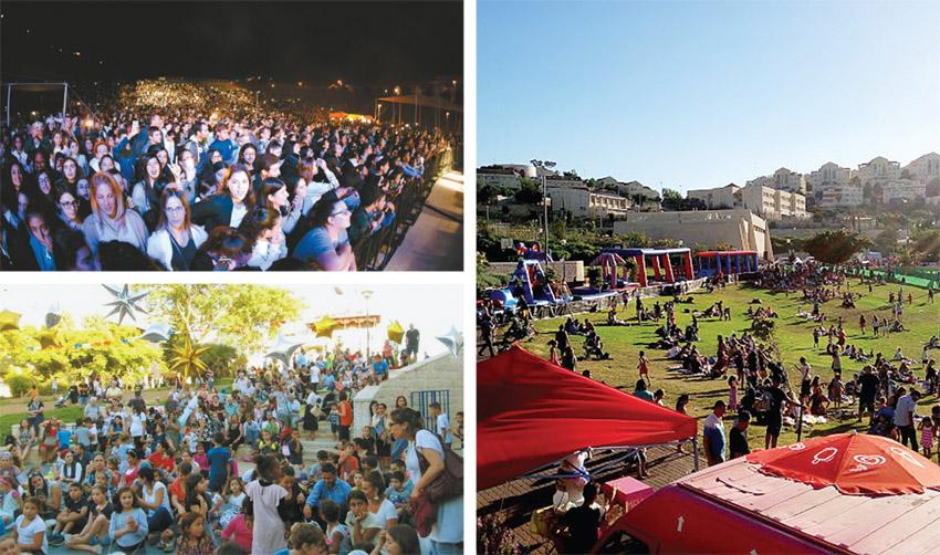 אירועי הקיץ שעבר במעלה אדומים (צילומים: עיריית מעלה אדומים)