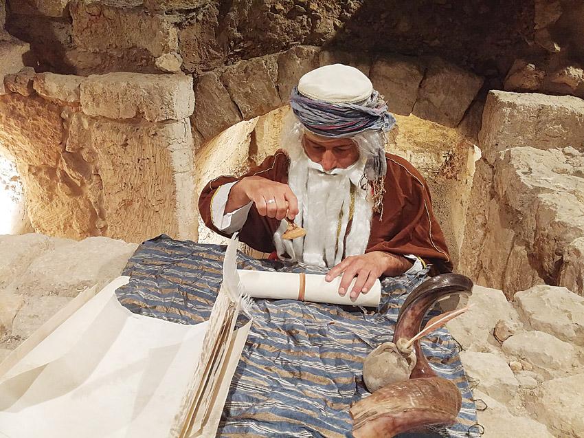 פריטי ארכיאולוגיה בעיר דוד (צילום: אלקנה שטינמץ)