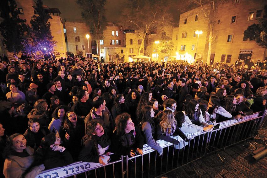 פסטיבל צלילים בעיר העתיקה (צילום: קובי שרביט)