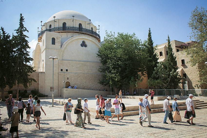 בית הכנסת החורבה (צילום: אמיל סלמן)