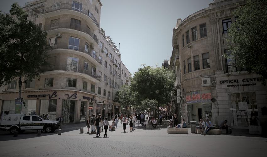 מדרחוב בן יהודה (צילום: ארנון בוסאני)